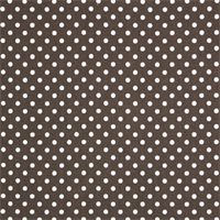 Dottie Chocolate/Natural by Premier Prints - Drapery Fabric
