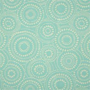 Mod Pod Celestial 400 Blue Dotted Circle Woven Upholstery Fabric by Waverly