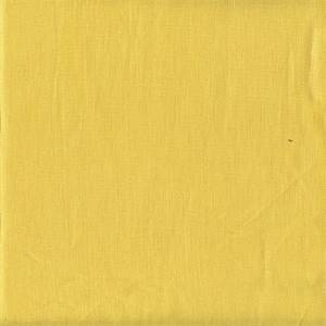 Metropolitan Sunshine Solid Yellow Linen Drapery Fabric by P. Kaufmann