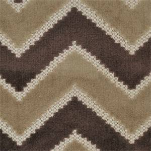 Fabulous Macchiato Brown Chenille Chevron Stripe Upholstery Fabric
