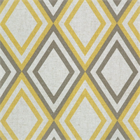 Annie Corn Yellow/Kelp Linen by Premier Prints - Drapery Fabric