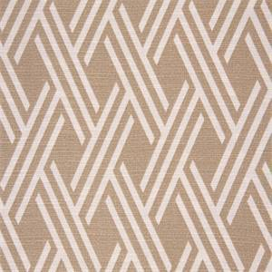 Crowley Sussex Saddle Tan Geometric Drapery Fabric By Swavelle