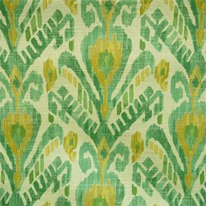 Mizu Jade Green Ikat Design Upholstery Fabric by Richloom