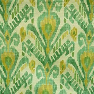 Mizu Jade Green Ikat Design Upholstery Fabric by Richloom