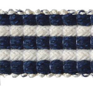 Rebellious Navy  Braid Trim