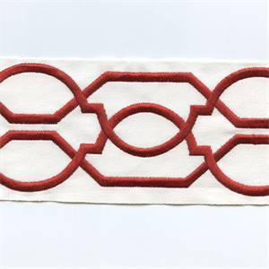 1010/Red 001 Wide Banding Trim