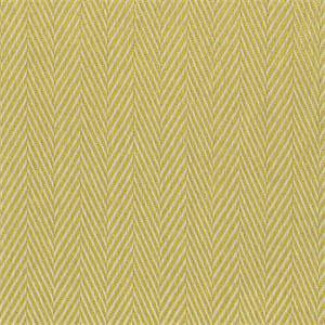 Meridian Sunrise Solid Yellow Al Fresco Herringbone Indoor Outdoor Functional Fabric