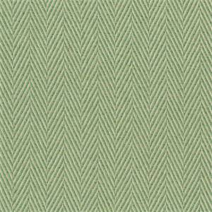 Meridian Spring Solid Green Herringbone Al Fresco Indoor Outdoor Functional Fabric