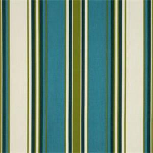 Tottenham Twill Capri Blue Stripe Drapery Fabric By