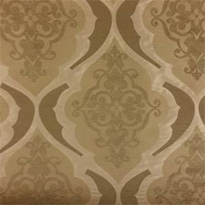 Legend Sisal Gold Floral Geometric Woven Upholstery Fabric