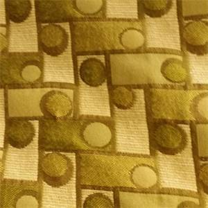 M8706 Bamboo Green Dot and Square Woven Upholstery Fabric