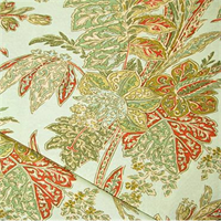*2 YD PC--Cayo Vista Seaglass Pink Green Blue Tommy Bahama Floral Indoor Outdoor Fabric