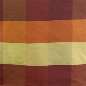 PDS 1342 D Rust Check Silk Fabric
