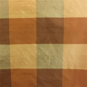 PDS 1355 D Brown Check Silk Fabric