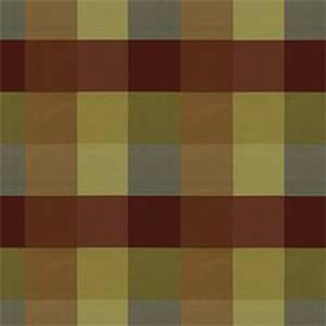 Assam Moss Green Check Silk Fabric