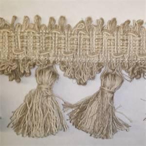 BIR 1112/2 Natural Linen Tassel Fringe