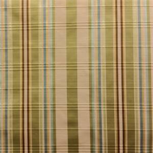 Antolia Sweetpea Green  Faux Silk Stripe By Swavelle