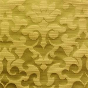 Narris Spring Green Floral Faux Silk Drapery Fabric by Richloom