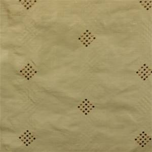E 8026-A Green Embroidered Diamond Dot Silk Fabric