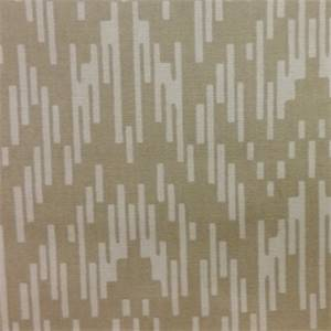 Jazzy Linen Tan Broken Stripe Cotton Drapery Fabric