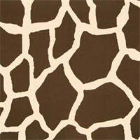 Giraffe Java/Natural by Premier Prints - Drapery Fabric