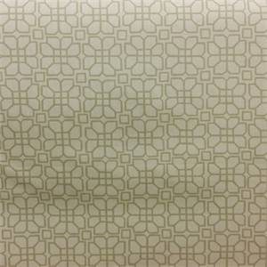Elle Linen Tan Geometric Cotton Drapery Fabric