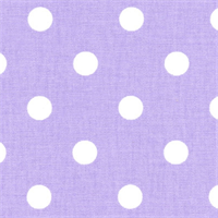 Polka Dots Julie/White by Premier Prints - Drapery Fabric