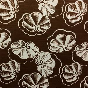 King Cotton Brown Drapery Fabric