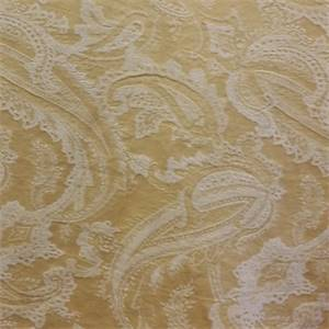 Heathcliff Sunglow Yellow Paisley Multipurpose Fabric by P Kaufmann
