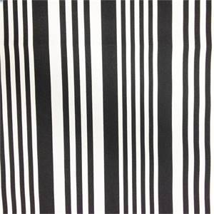 Piper Black Stripe Cotton Drapery Fabric by Richtex Premium Prints