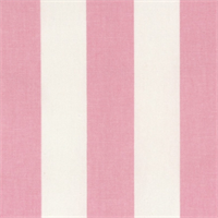 Canopy Baby Pink/White by Premier Prints - Drapery Fabric