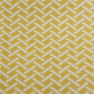 Rian Maize Yellow Basket Design Cotton Drapery Fabric  by Richtex Premium Prints