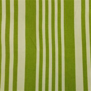 Piper Aloe Green Stripe Cotton Drapery Fabric by Richtex Premium Prints