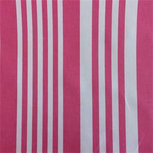 Piper Hot Pink Stripe Cotton Drapery Fabric by Richtex Premium Prints