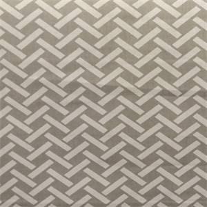 Rian Dove Grey Basket Design Cotton Drapery Fabric by Richtex Premium Prints
