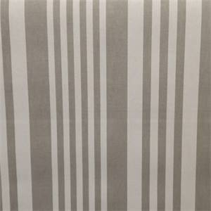 Piper Dove Grey Stripe Cotton Drapery Fabric by Richtex Premium Prints