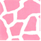 Giraffe Baby Pink/White by Premier Prints - Drapery Fabric