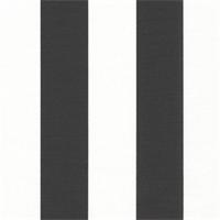 Canopy Black/White by Premier Prints - Drapery Fabric