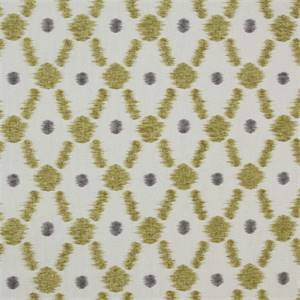 Konya Mink Grey Contemoray Ikat Cotton drapery Fabric