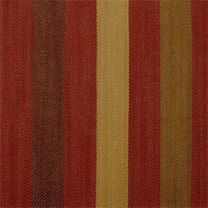 Cliff Stripe #147 Cedarberry Red Striped Upholstery Fabric