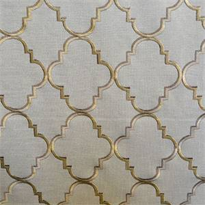 Chinon Mineral  Blue Green Geometric Drapery Fabric By Swavelle