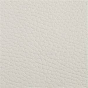 Bonair Solid White Backed Vinyl Upholstery Fabric
