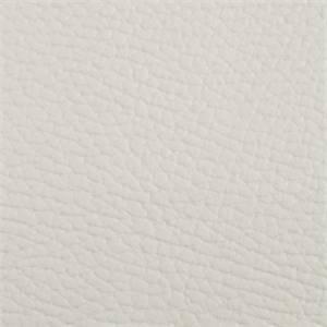 Bonair Solid White Backed Vinyl Upholstery Fabric