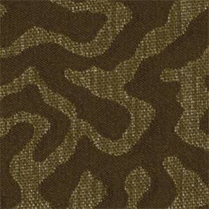 Ethereal Chocolate Brown Coral Reef Upholstery Fabric By Robert