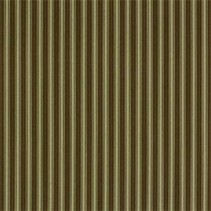 Greenhill Acorn Brown Stripe Drapery Fabric by Robert Allen
