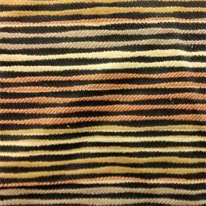 Finstock Ebony Black Horizontal Woven Uneven Stripe Upholstery Fabric By Robert Allen