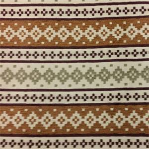 Karlsburg Rasin Brown Geometric Upholstery Fabric By Robert Allen
