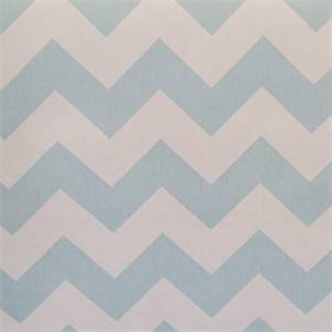 Chevron Blue Natural Stripe Cotton Drapery Fabric