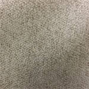 Exotic Mushroom Gray Chenille Dot Upholstery Fabric