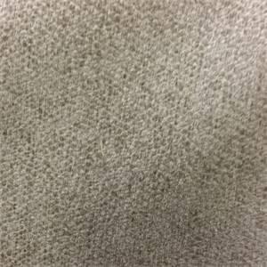 Exotic Mushroom Gray Chenille Dot Upholstery Fabric